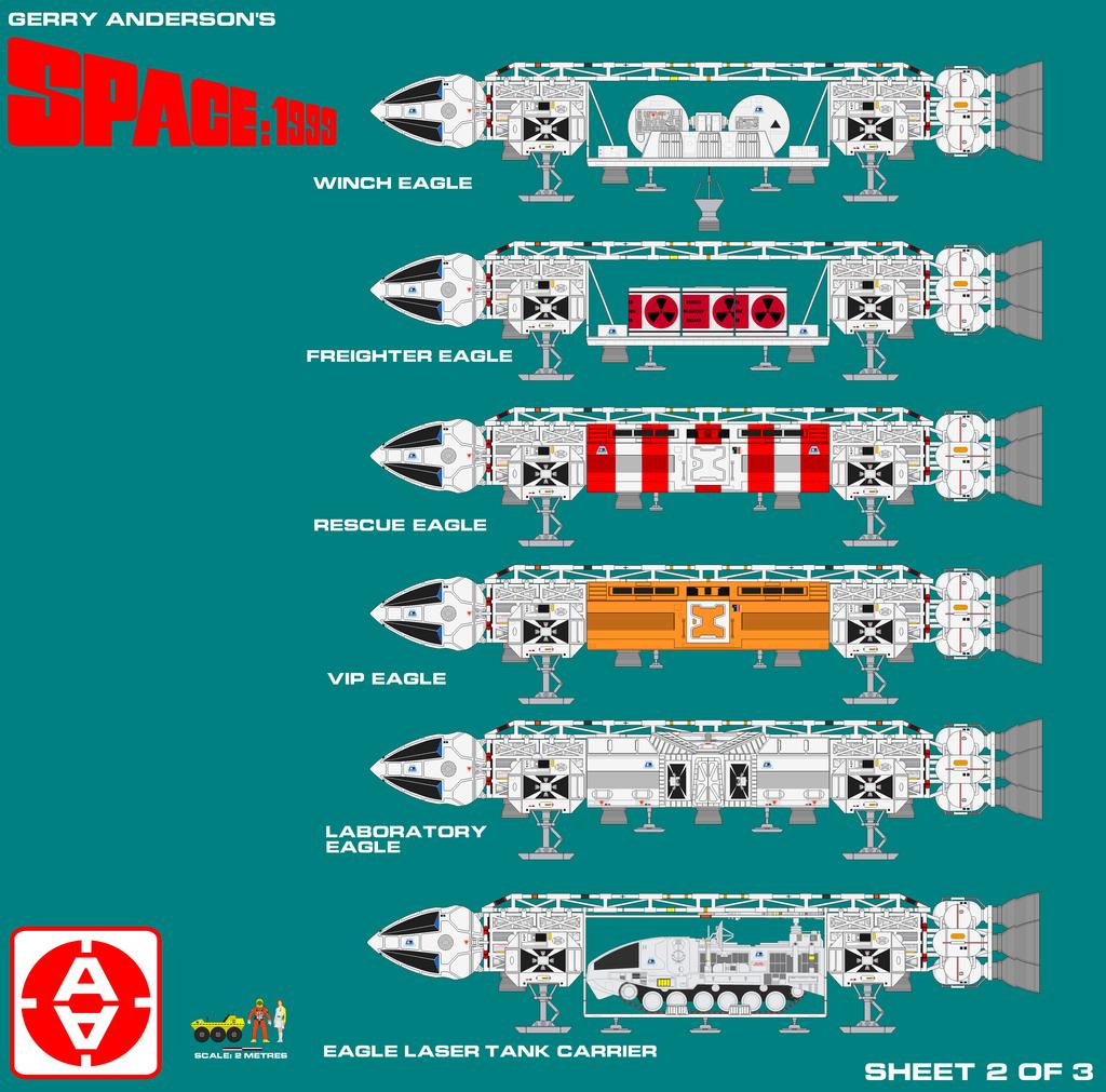 Space 1999 Eagle 1 Transporter