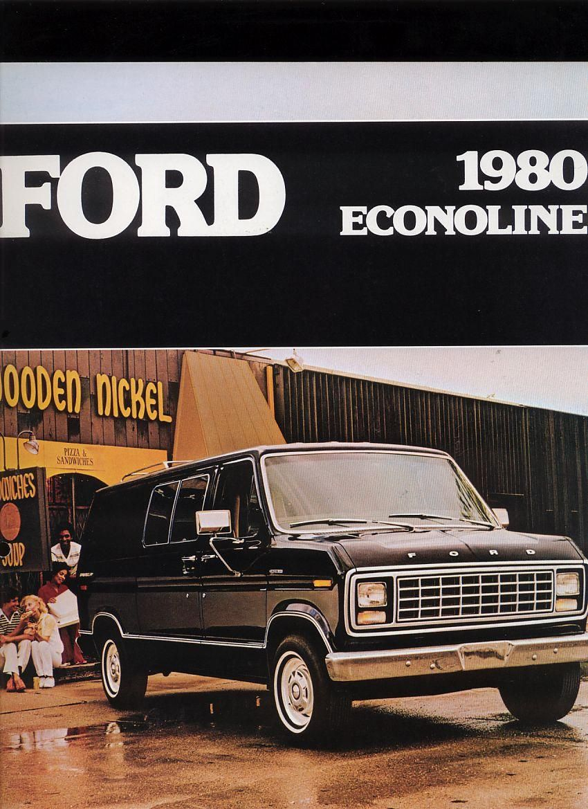 1980 ford econoline 01 70 80 s ford van pinterest ford ford rh pinterest com Ford Courier Wagons 2012 Ford Econoline Wagon