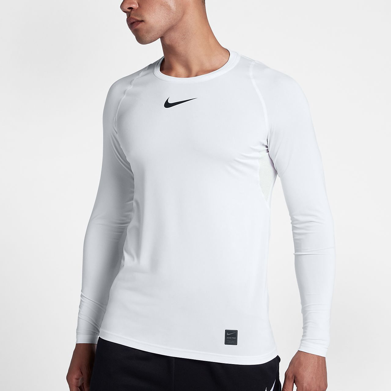 Nike Pro Mens Long Sleeve Top M Tall Pros And Products Combat Base Layer Sleeves 3xl
