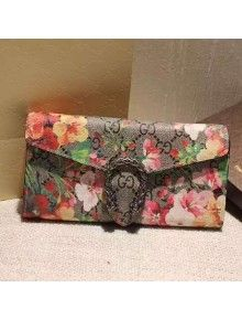 bcf5f57e368 Gucci Dionysus GG Supreme Chain Wallet Red Bloom
