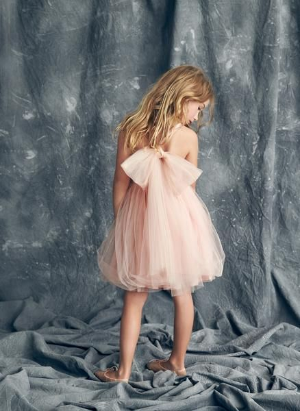 Nellystella Love Peach Dress in Vintage Violet Peach Melba - PRE-ORDER