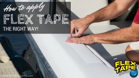 How To Apply Flex Tape Flex Seal Tape Flex How To Apply