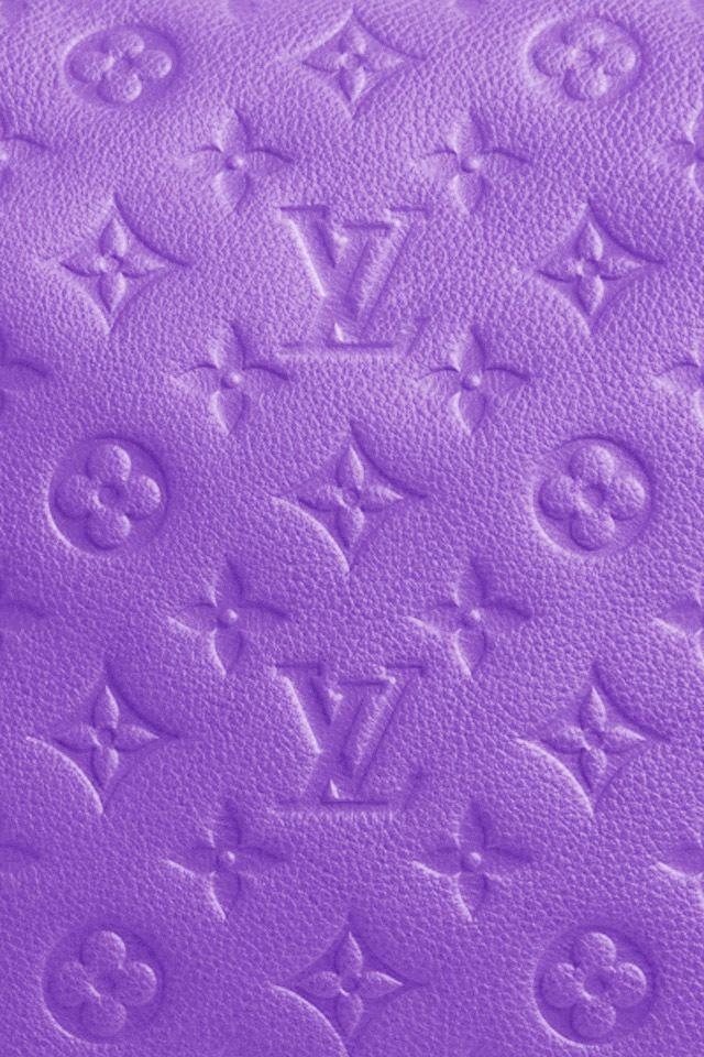 Louis Vuitton Purple wallpaper pour smartphone Afiş