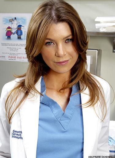 Meredith Grey (Ellen Pompeo) | Hairspiration | Pinterest | Gute ...