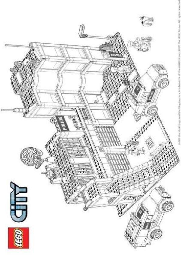 Malvorlagen Lego City Bilder Zum Ausmalen 843 Malvorlage Lego