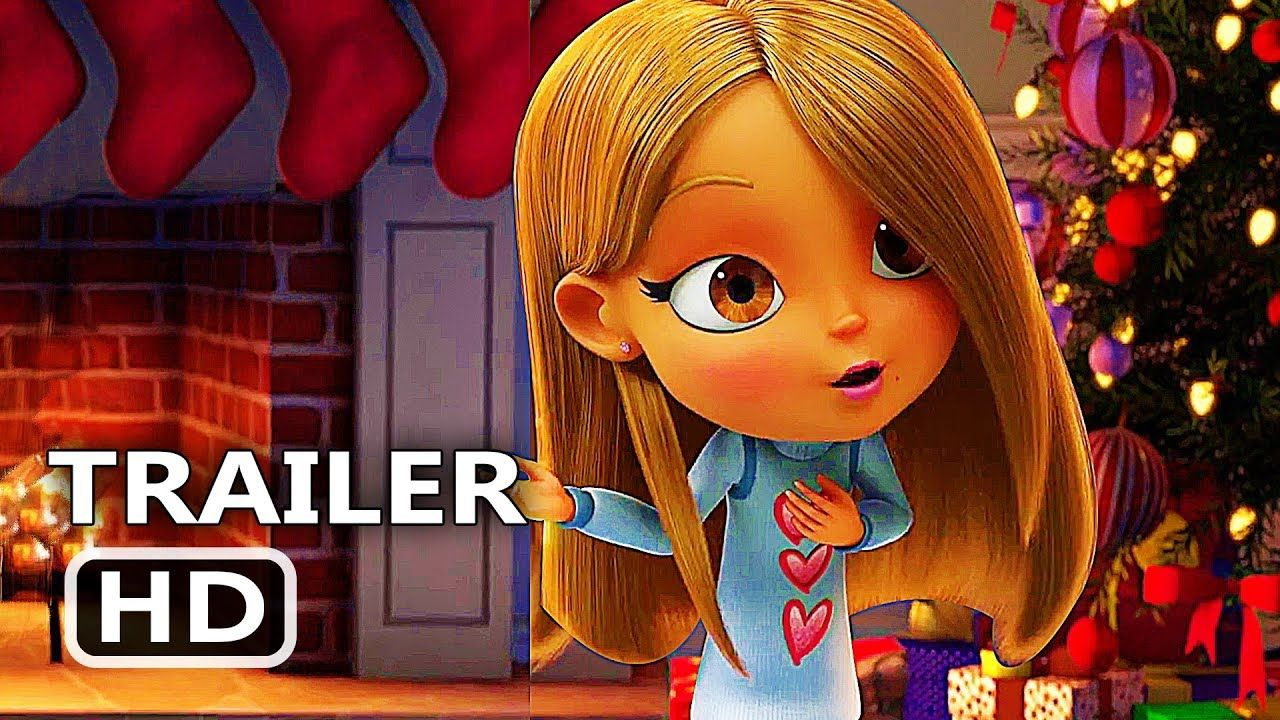 All I Want For Christmas Is You Trailer 2017 Mariah Carey Animation Movie Hd Christmas Cartoons Hollywood Trailer Worst Movies