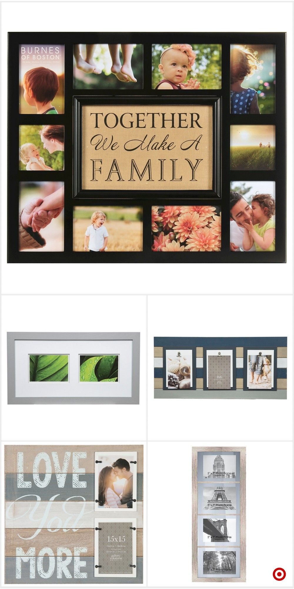 bf4a75c9efc3 Shop Target for multiple image frame you will love at great low prices.  Free shipping on orders of  35+ or free same-day pick-up in store.