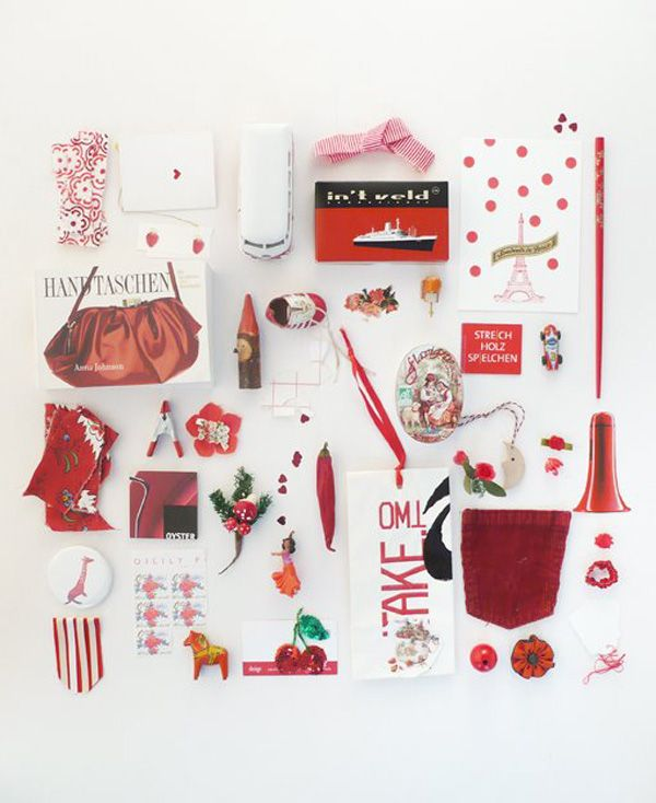 Imke Klee Trend Stylist/Photographer- color-coded pictures of things #red