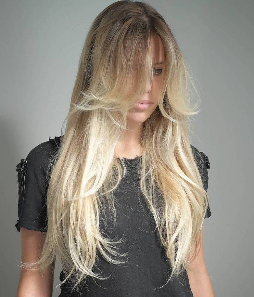 Hairstyles For Long Thin Hair 40 Long Hairstyles And Haircuts For Fine Hair  Blonde Balayage