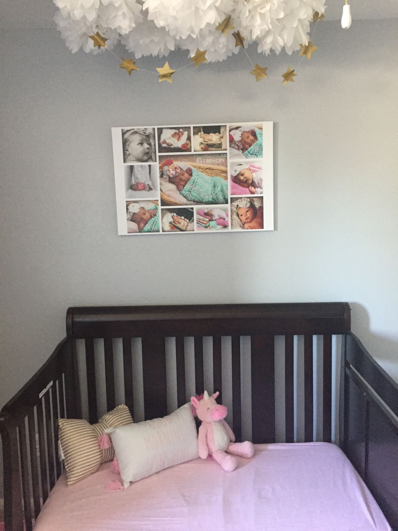 Toddler Baby Girl Unicorn Bedroom Nursery Makeover