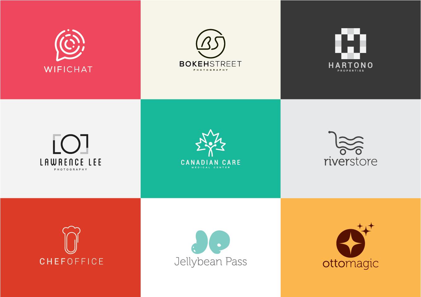 Design Professional Modern And Minimal Logo Flat Logo Design