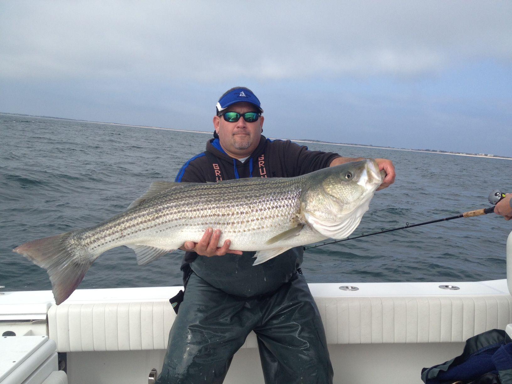 Long Island Fishing Report Striped Bass Fishing RED HOT on Diamond