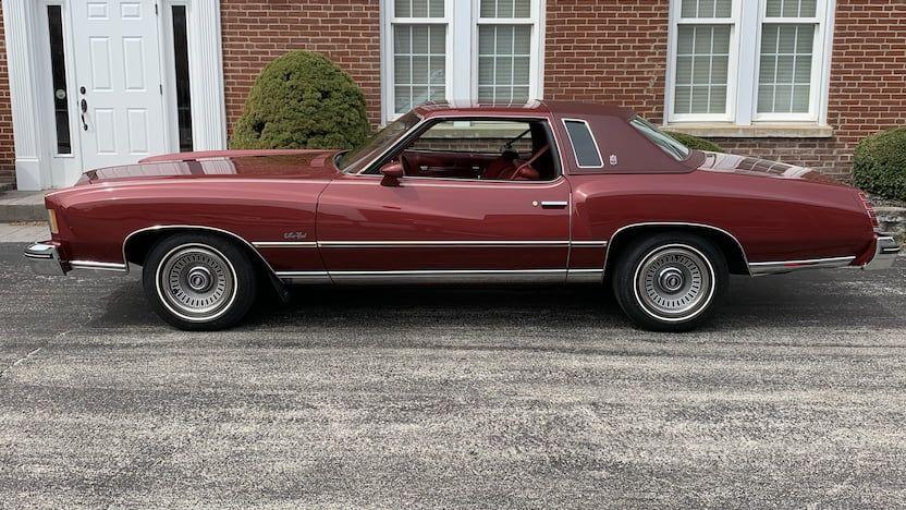 1975 Chevrolet Monte Carlo Landau | T8 | Indy 2020 | Mecum Auctions