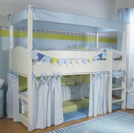 Annette Frank Himmelaufsatz Hochbett   Inspiration Kinderzimmer ...