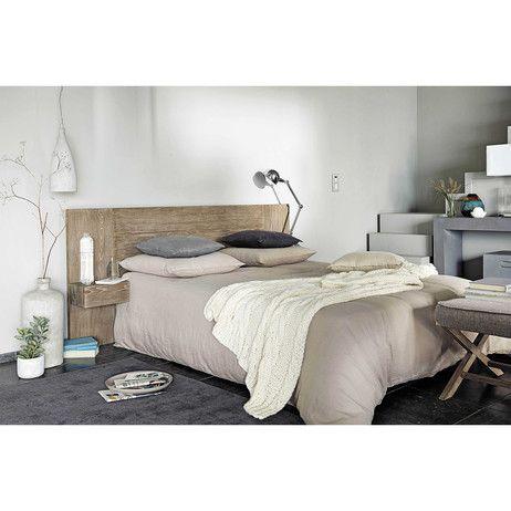 Testata da letto in legno l 140 cm legno testiere e letti - Testata letto in legno ...