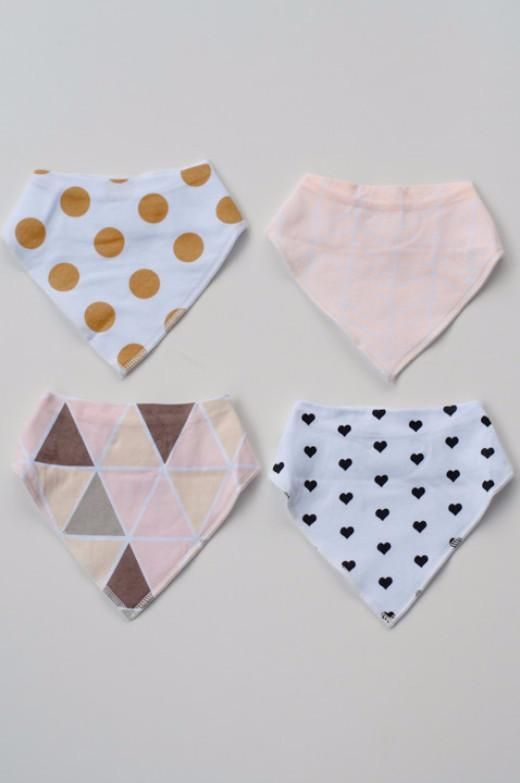 4-Piece Bib Sets