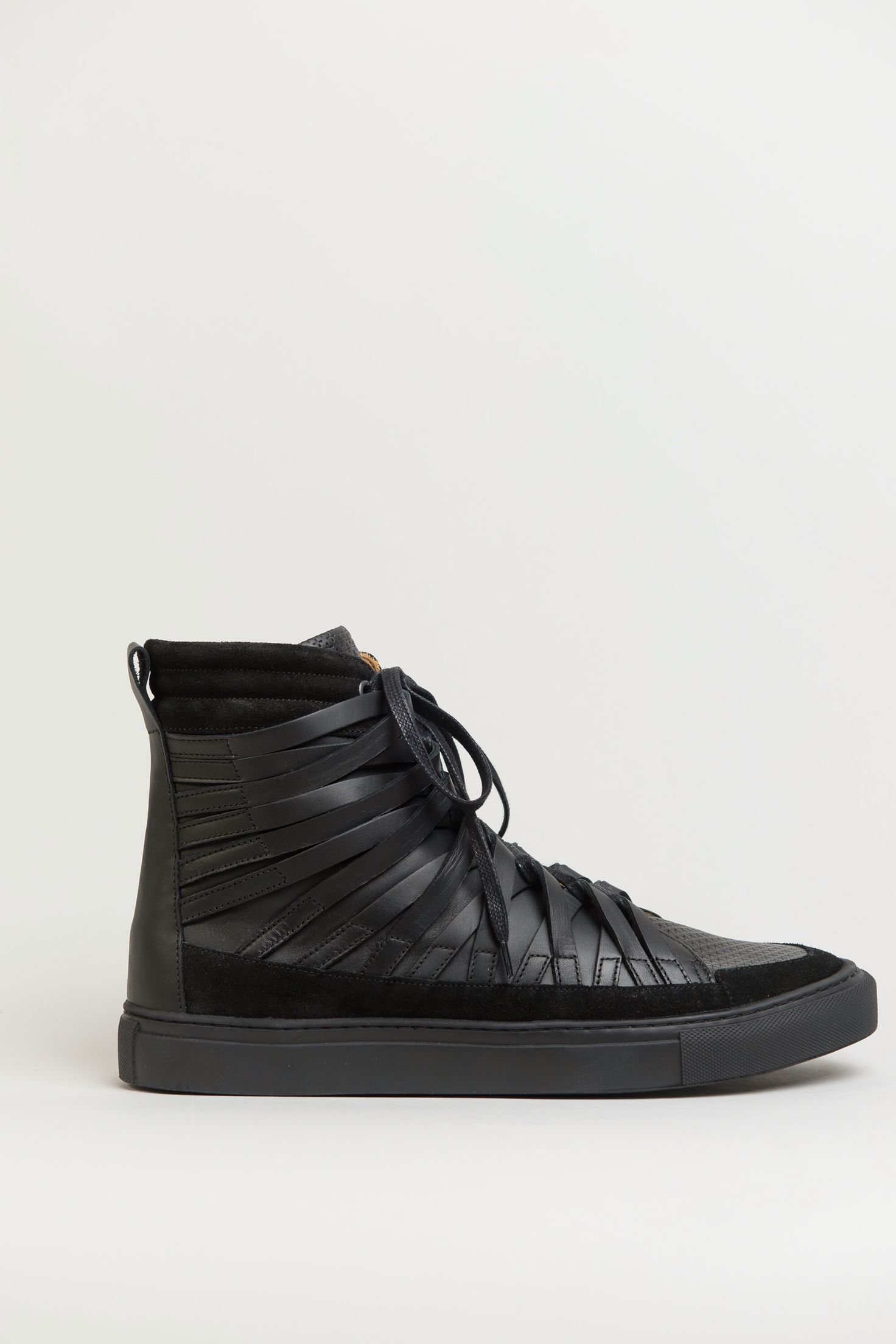lace-up sneakers - Black Damir Doma y7iNMa3A