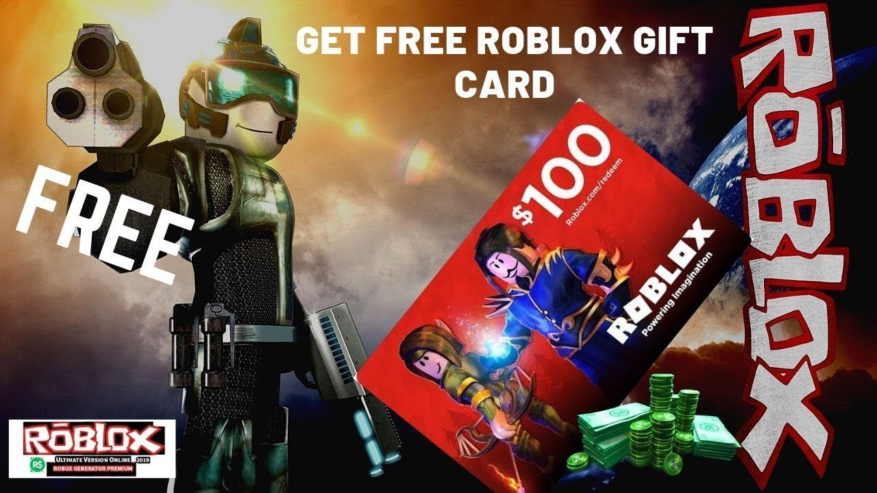 Roblox Gift Card Giveaway Get A 100 Roblox Gift Card Free