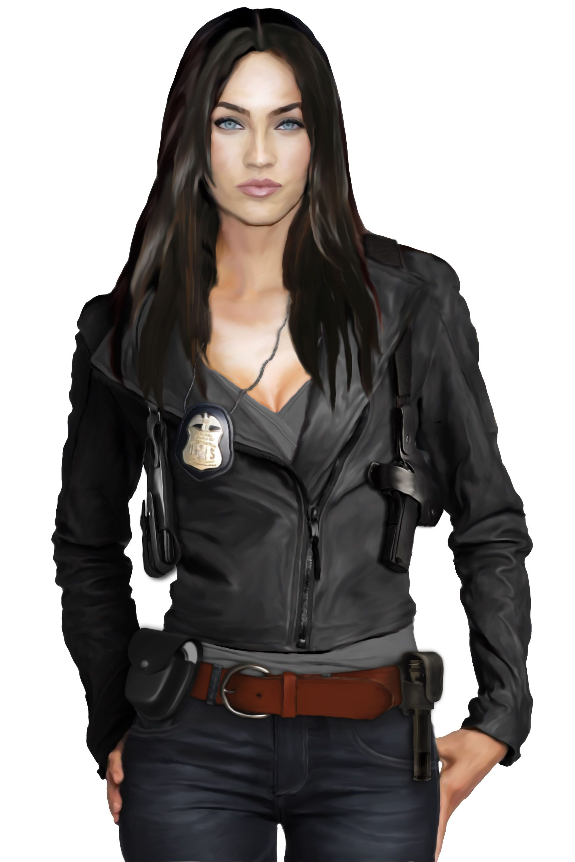 Characters Fashion Leather Jacket Leather [ 3000 x 2000 Pixel ]