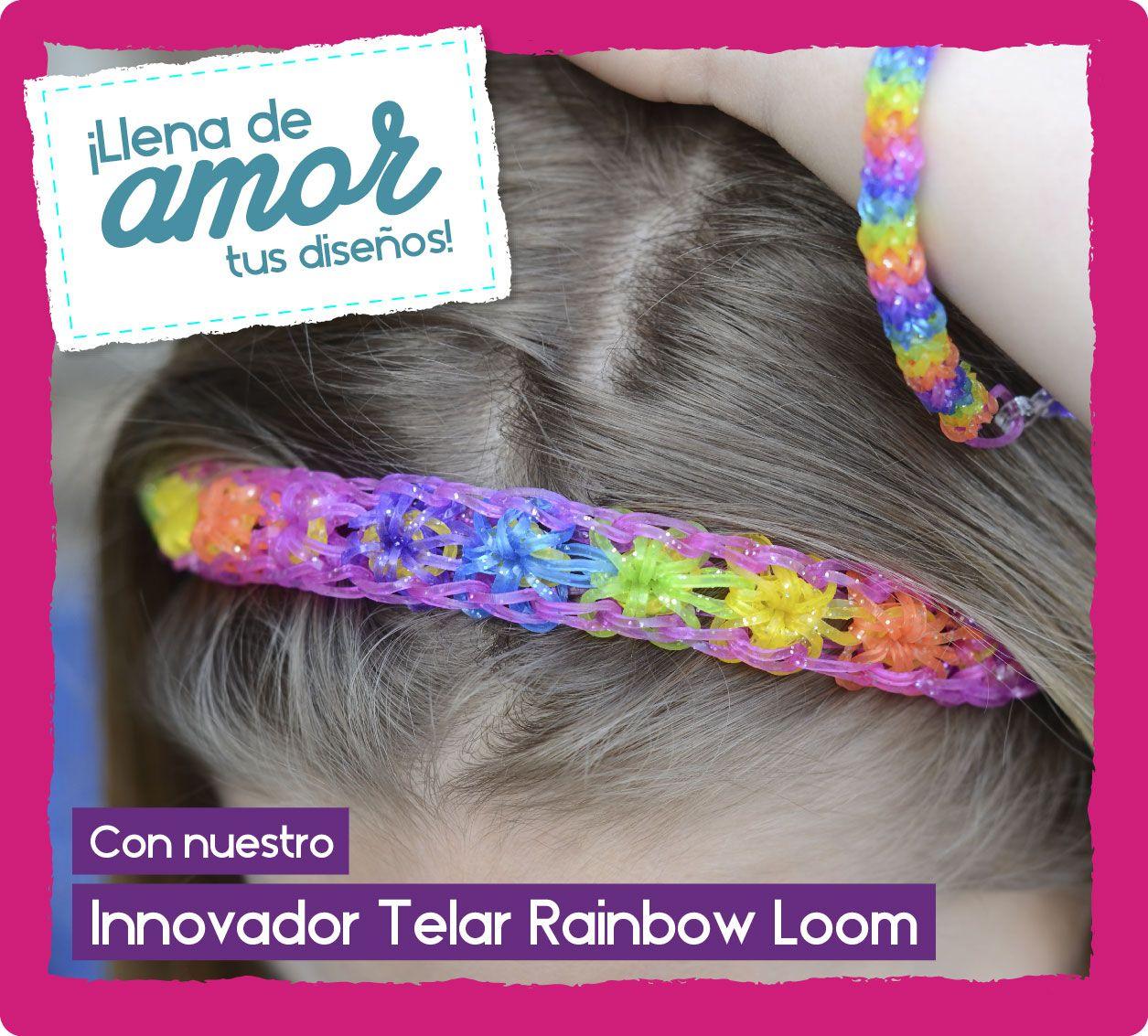 ¿Que tal esta balaquita hecha con el Telar Original Rainbow Loom? ¡Hermosa verdad! Adquiere tu Telar también con un súper descuento en nuestra PROMO #SanValentín