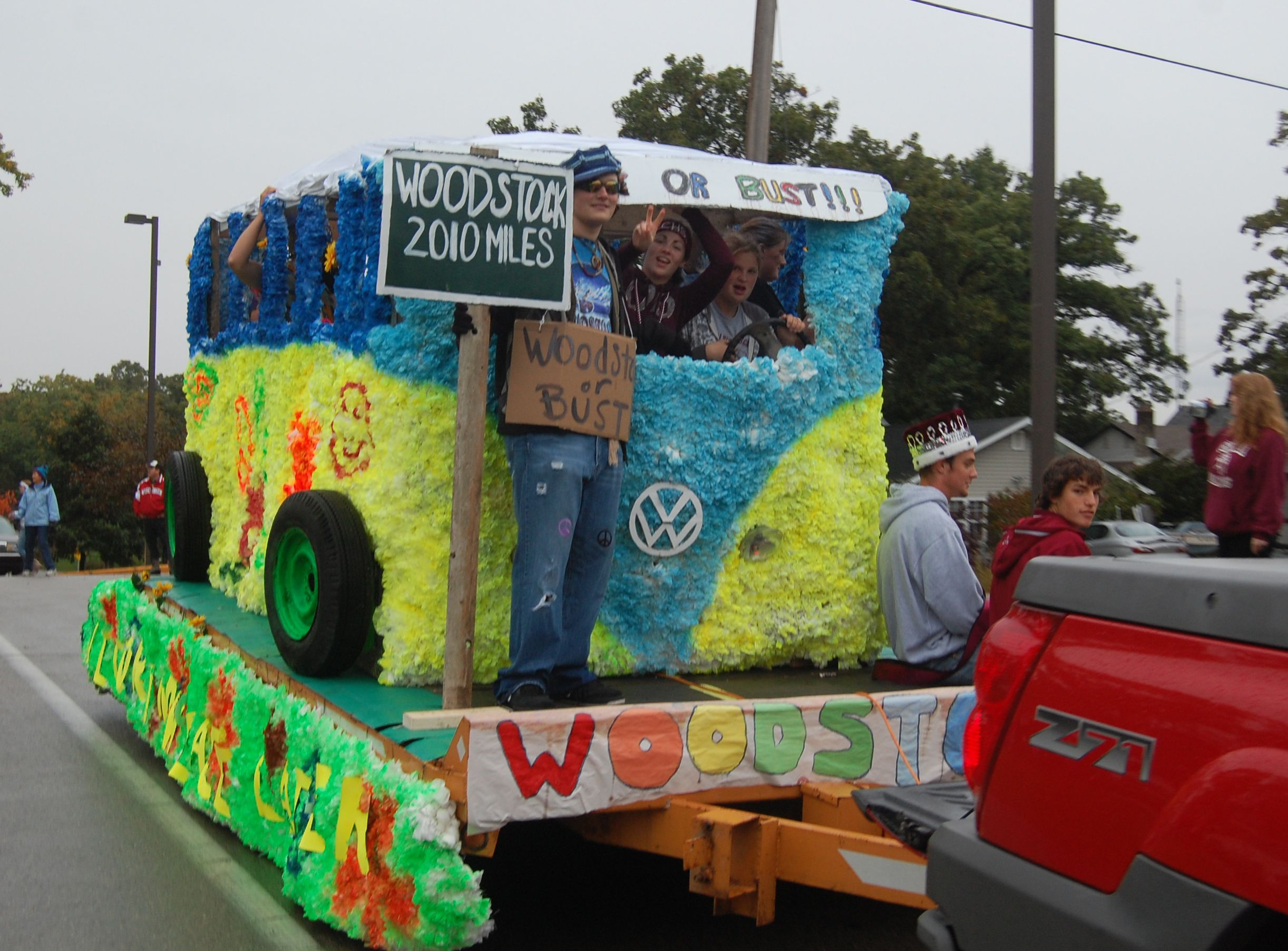 Good 60's decade float | HS Homecoming Float Ideas in 2019 ...