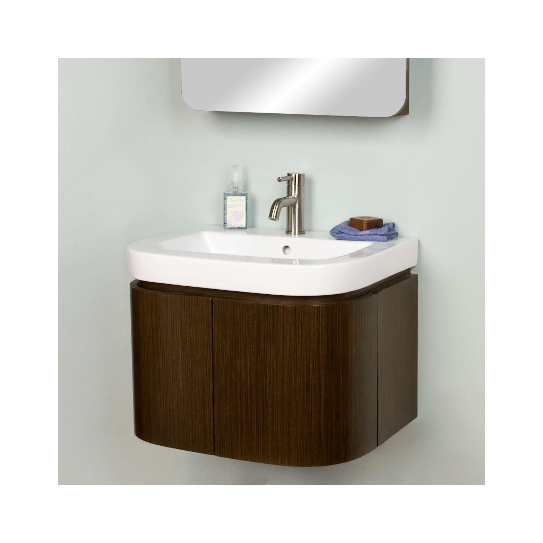 """24 Bathroom Vanity With Medicine Cabinet 24"""" cyrus wall-mount vanity with lighted medicine cabinet"""