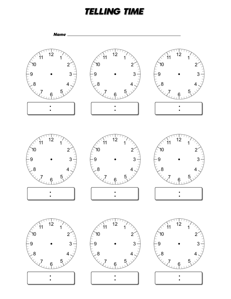worksheet Printable Clock Worksheets 17 images about mathematics on pinterest fact families math and count