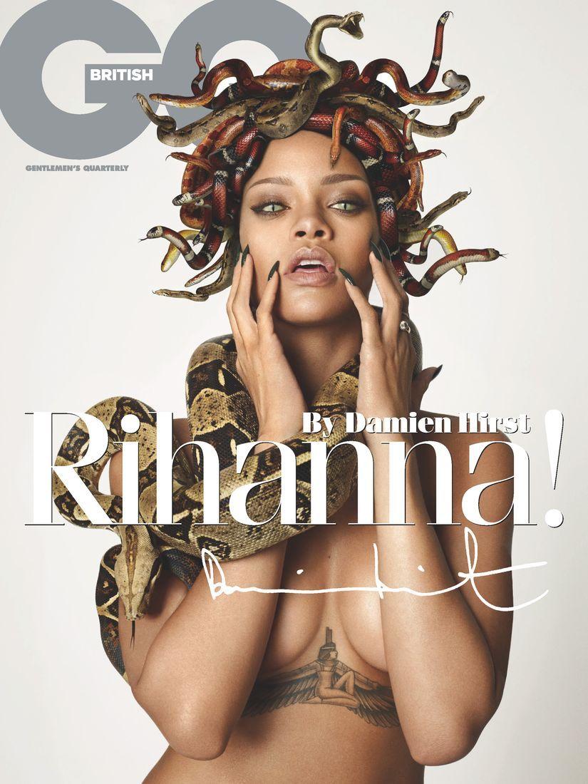 gq Rihanna nude