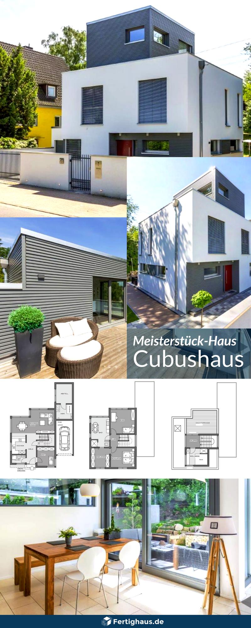 Cubushaus Mit Sehr Kleiner Grundflache Von Meisterstuck Haus