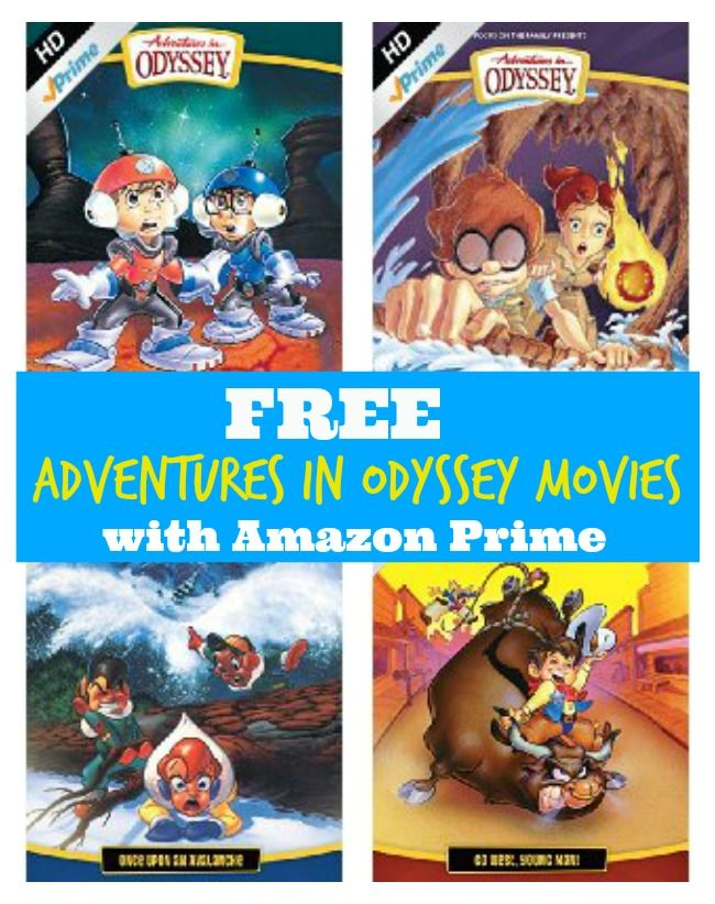 Free Adventures In Odyssey Movies With Amazon Prime