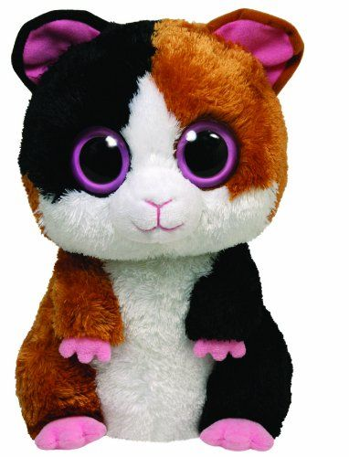 Amazon.com  Ty Beanie Boos - Nibbles the Guinea Pig  Toys   Games ... ea735253481a