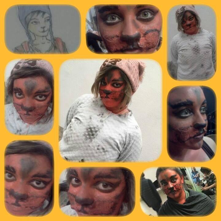 Animal Makeup KittyCat Cat Makeup Makeup Cat  Makeup by: Emmanuel Mora (Darkhsm)