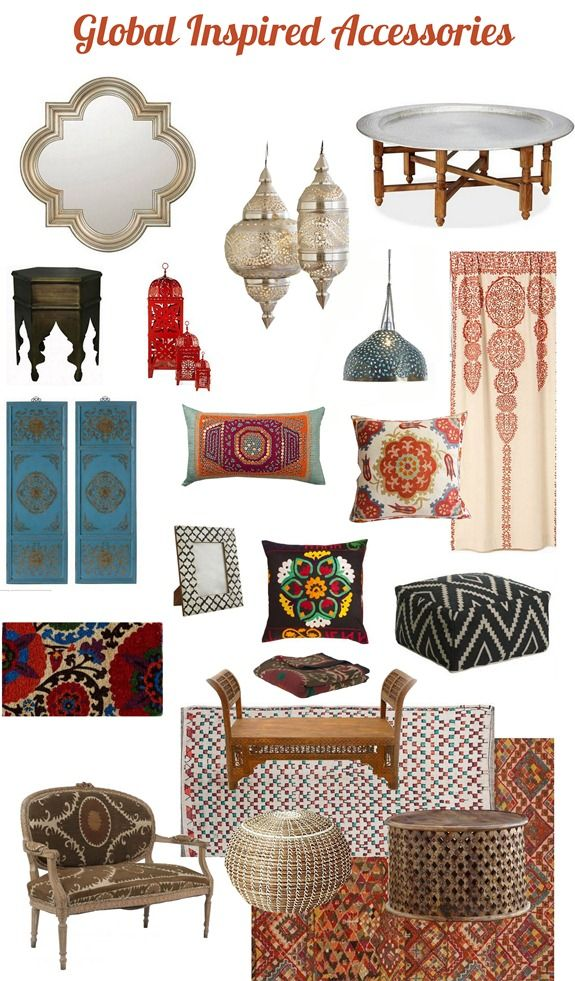 Design Elements From The East Have Influenced Interior Design Over The  Decades, And Internationally Inspired Accessories Are Again Surging In  Popularity.