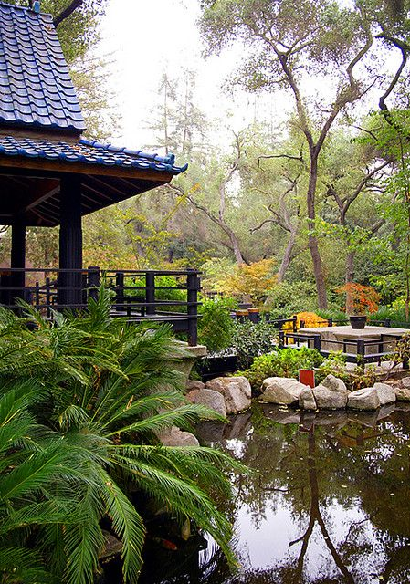 Japanese Garden at Descanso LA Los angeles california