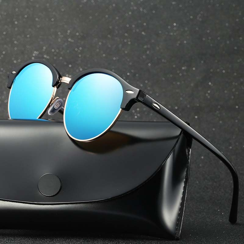 d786b0385e6b2 Click to Buy    NODARE Hot Top Quality Polarized Sunglasses Men Classics  Half