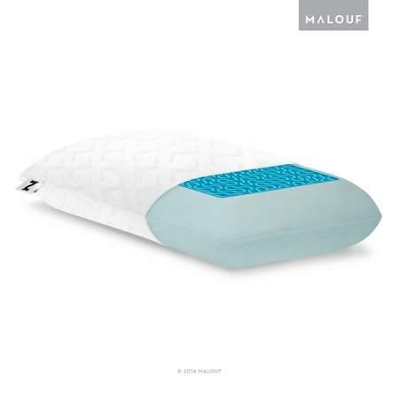 Malouf Z Gel Dough Memory Foam And Liquid Z Gel Pillow Gel