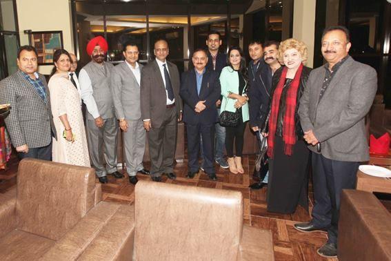 Divisional Commissioner Jammu Dr Pawan Kotwal And Other Executive
