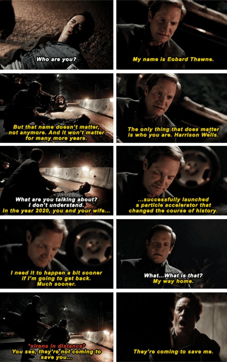 The Flash - Harrison Wells #1x17 #Season1