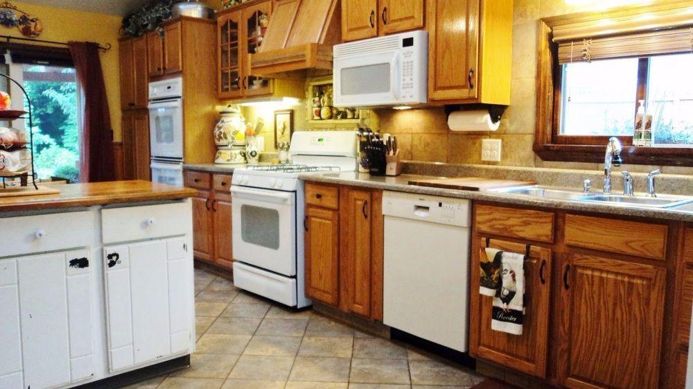 A Craigslist Kitchen Redo | Kitchen redo, Kitchen cabinets ...