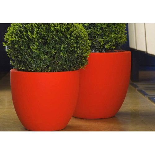 Vondom Cuenco Fang Round Flower Pot Planter Reviews Wayfair