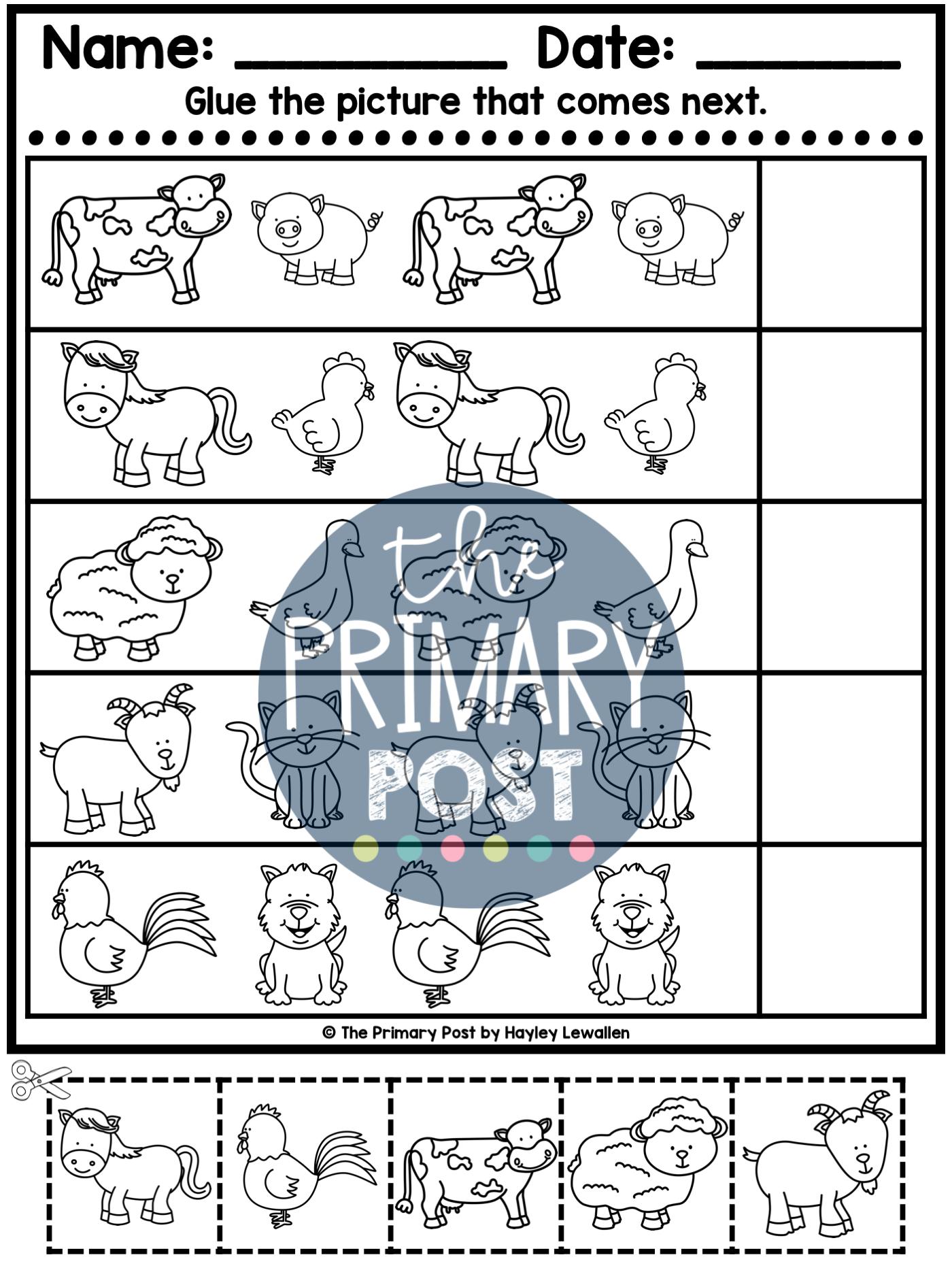 Patterns Worksheets In