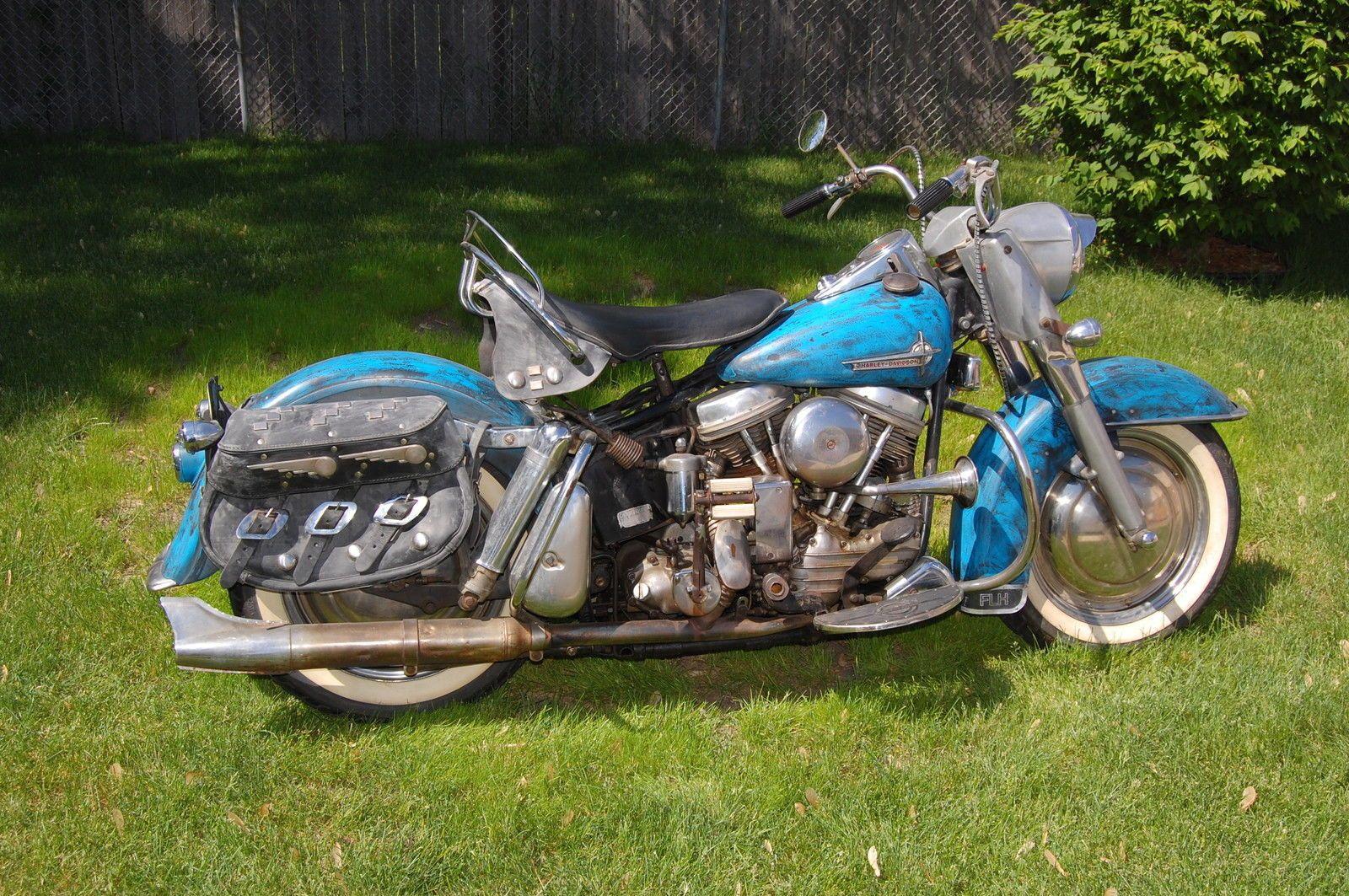 62 Panhead Duoglide Harley Davidson Model Harley Davidson Motorcycles Vintage Harley