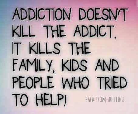 Addicts meme