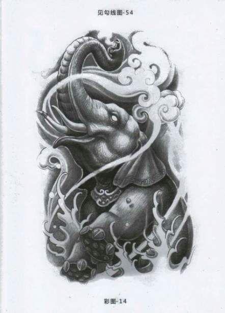 Trendy Tattoo Elephant Buddha Hindus 64+ Ideas