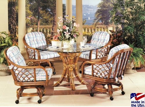 Rattan & Wicker Furniture Made In The Usachoose From Living Room Custom Indoor Wicker Dining Room Sets Design Decoration