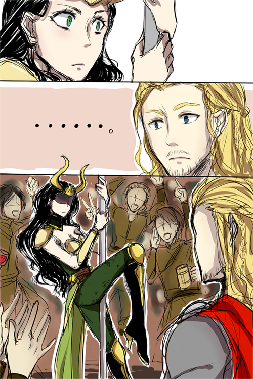 Sister! What are you doing? Thor & Lady Loki