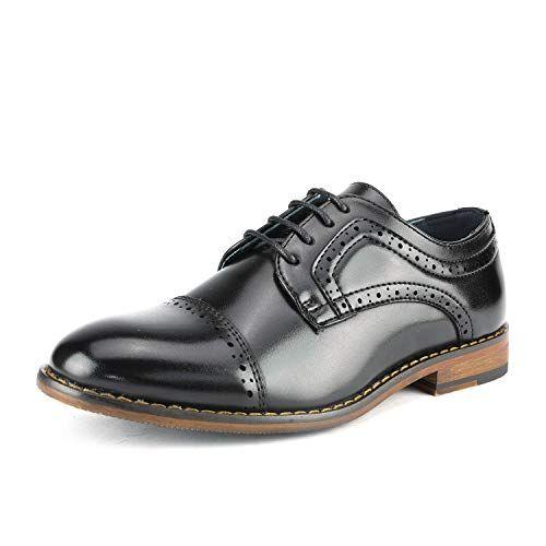 Bruno Marc Boys Prince-K Classic Oxfords Dress Shoes