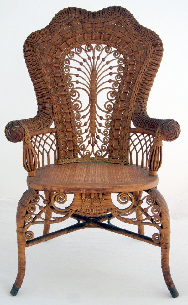 41: Victorian Wicker Chair on | Chair's | Pinterest ...