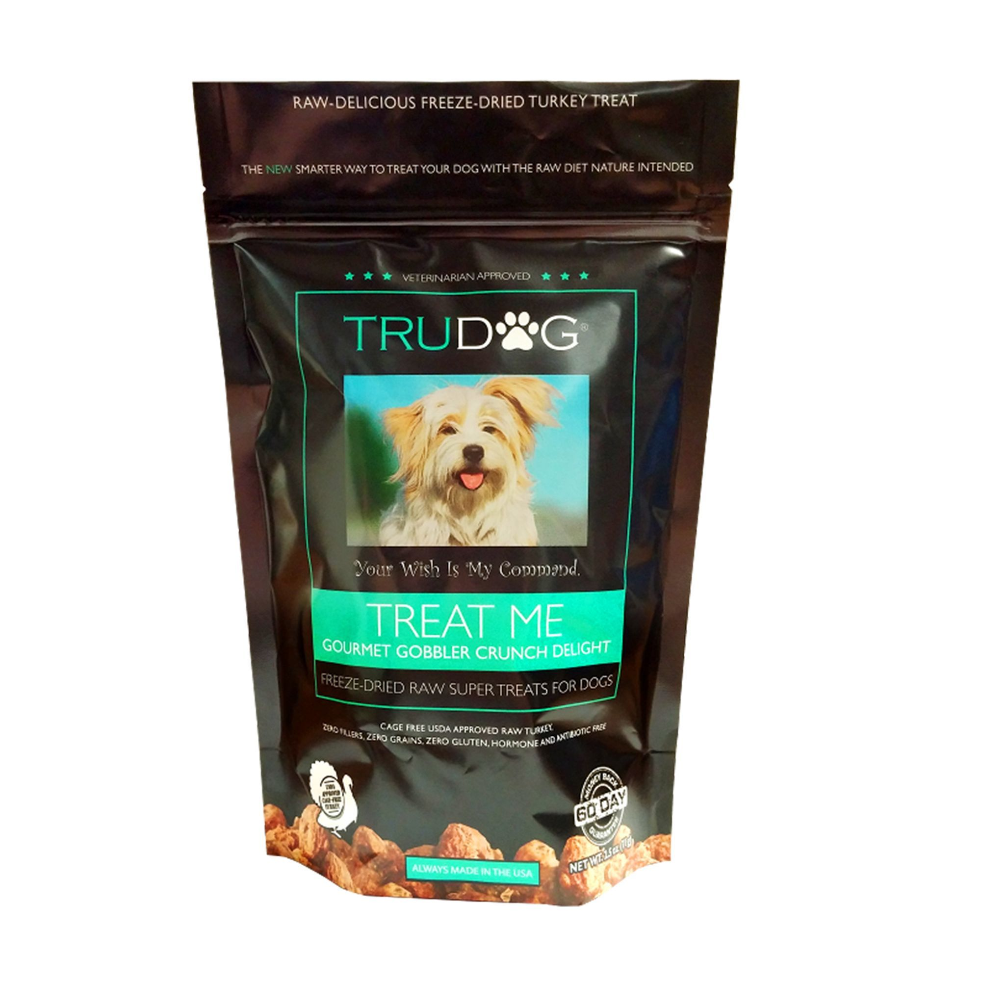 TruDog Treat Me Dog Treat Freeze Dried, Raw, Natural