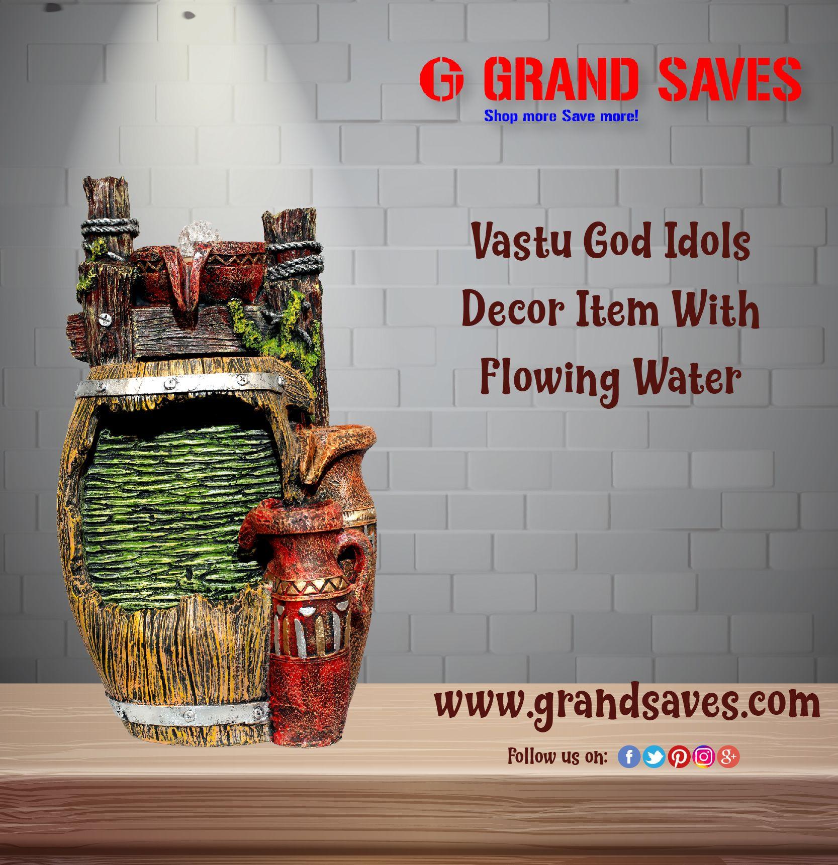 Grandsaves Fountain Showpiece Homedecor Vastu Decorativeitems
